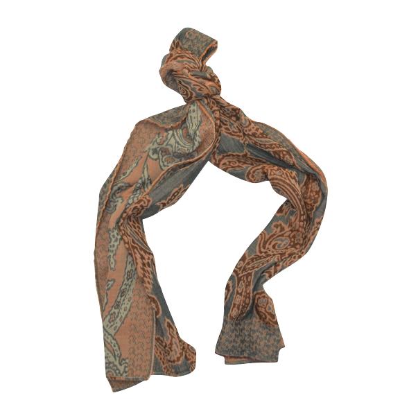 Echarpe motifs cachemire. SOLDES. SOLDES. SOLDES · CASHMERE AZUR PLAT ·  CASHMERE ORANGE NOUEpng ebbf8598feb