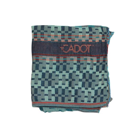 Echarpe motifs pixel   Cadot 33041cdc290