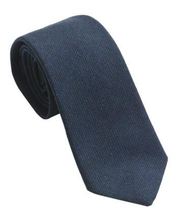 Echarpe à motif pied-de-poule en laine et soie – marron bleu marine ... 5bc1459a01f