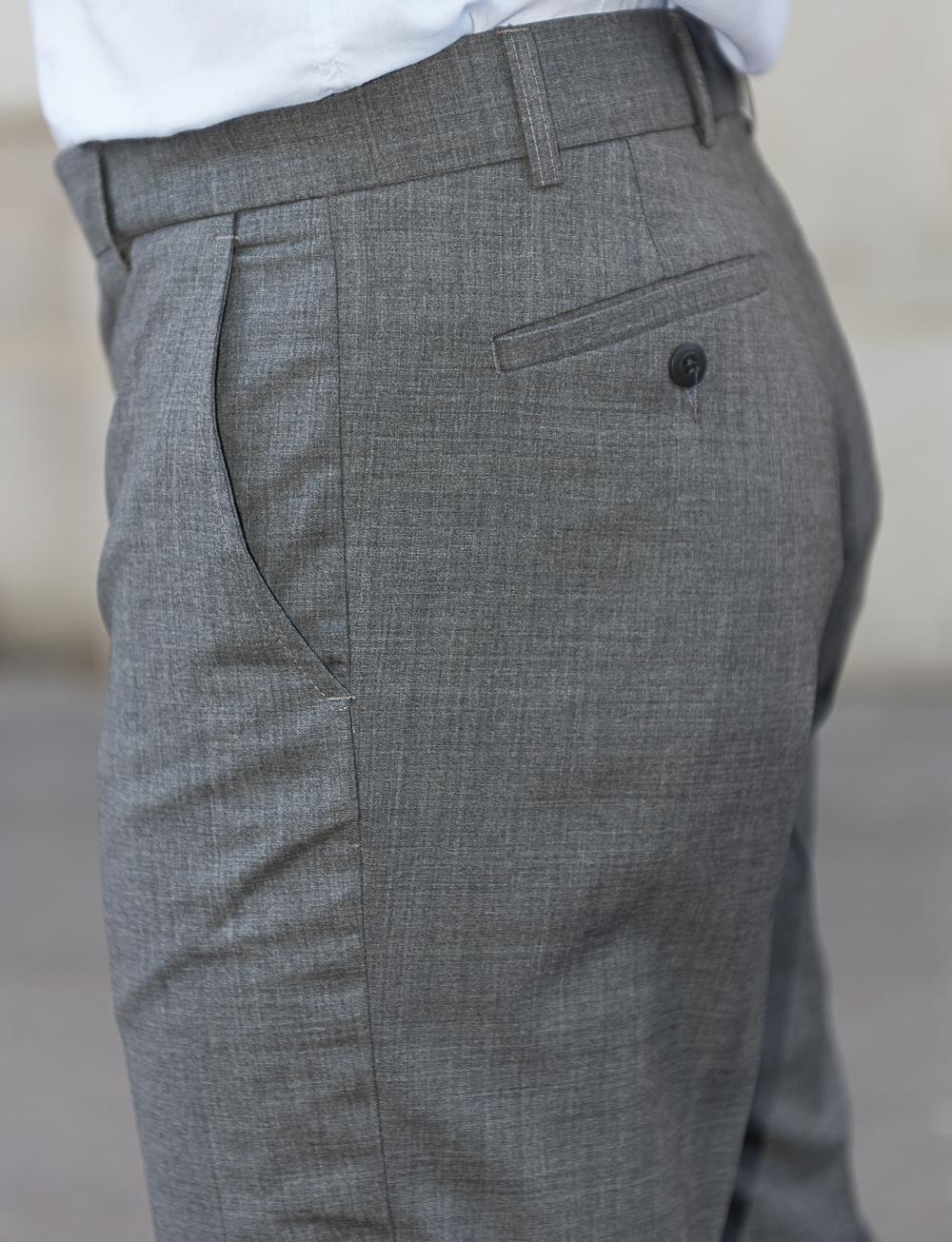 Pantalon en laine sèche