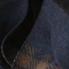 53fa50e833a Echarpe à motif pied-de-poule en laine et soie – marron bleu marine. 50%